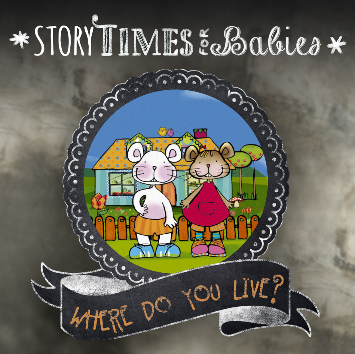 Storytime for babies: Where do you live?